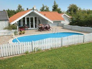 Beautiful home in Hemmet w/ Sauna, WiFi and 4 Bedrooms (P52020)