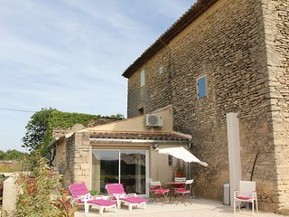 Beautiful home in Cabrieres D´Avignon w/ WiFi and 0 Bedrooms