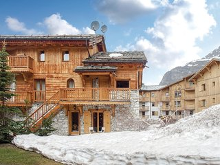 Stunning home in Val D'Isere w/ WiFi and 2 Bedrooms
