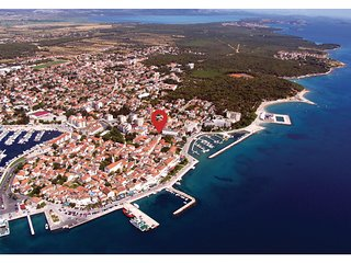 Beautiful home in Biograd w/ WiFi and 5 Bedrooms