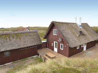 Beautiful home in Hvide Sande w/ WiFi and 3 Bedrooms (P62126)