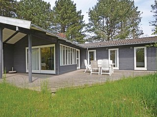 Amazing home in Knebel w/ Sauna, WiFi and 3 Bedrooms