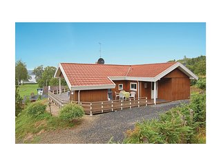 Nice home in Borkop w/ Sauna, WiFi and 3 Bedrooms