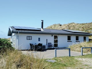 Beautiful home in Hvide Sande w/ WiFi and 3 Bedrooms (P62444)