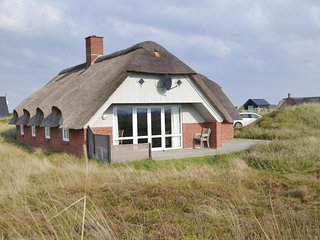 Stunning home in Hvide Sande w/ Sauna, WiFi and 3 Bedrooms (P62635)