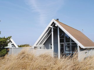 Beautiful home in Hvide Sande w/ WiFi and 3 Bedrooms (P62537)