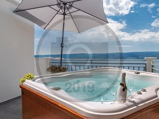 Awesome home in Stanici w/ WiFi, 3 Bedrooms and Jacuzzi