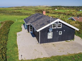 Awesome home in Lokken w/ Sauna, WiFi and 4 Bedrooms (D7244)