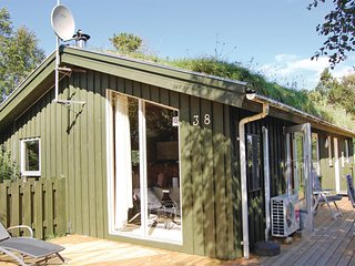 Stunning home in Pandrup w/ Sauna, WiFi and 3 Bedrooms
