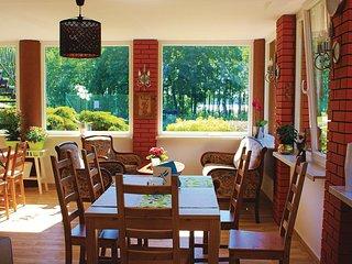 Nice home in Wegorzewo w/ WiFi and 4 Bedrooms