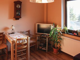 Beautiful home in Nowe Warpno w/ WiFi and 1 Bedrooms