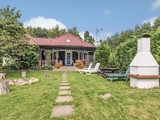 Awesome home in Karsko w/ Sauna and 3 Bedrooms