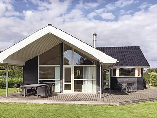 Stunning home in Borkop w/ Sauna, WiFi and 3 Bedrooms