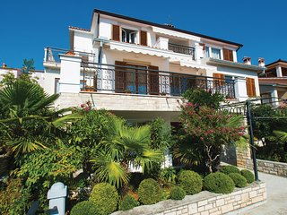 Awesome home in Rabac w/ WiFi and 1 Bedrooms
