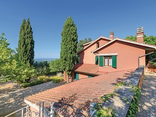 Amazing home in Casciana Terme w/ WiFi and 5 Bedrooms