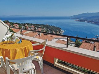Beautiful home in Rabac w/ WiFi and 1 Bedrooms