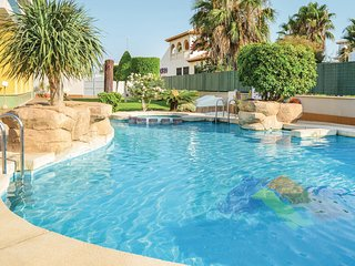 Awesome home in Orihuela Costa w/ WiFi and 2 Bedrooms