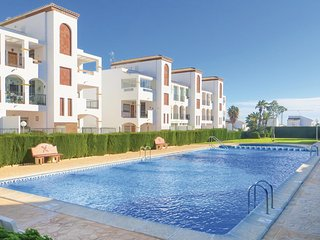 Amazing home in Orihuela Costa w/ WiFi and 2 Bedrooms