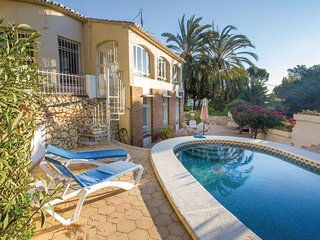 Amazing home in Benissa w/ 3 Bedrooms and WiFi