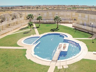 Awesome home in Orihuela Costa with WiFi and 2 Bedrooms (EBL687)