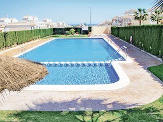 Stunning home in Orihuela Costa w/ WiFi and 2 Bedrooms (EBL584)