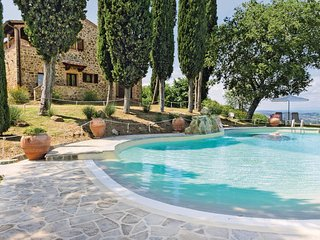 Recreatie in een vakantiehuis in een rustige panorama-omgeving.