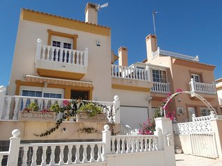 Nice home in Orihuela Costa w/ WiFi and 3 Bedrooms (EBL873)