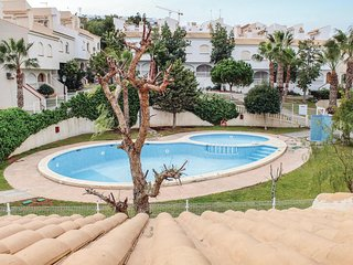 Awesome home in Gran Alacant w/ WiFi and 2 Bedrooms (EBL889)