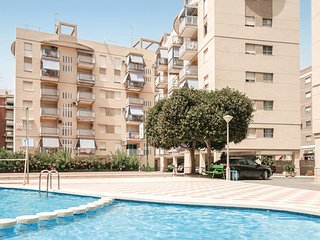 Amazing home in Santa Pola w/ 2 Bedrooms (EBL859)