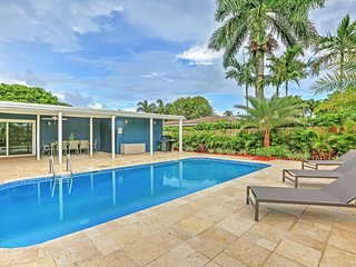 Fort Lauderdale House w/ Private Pool & Deck!
