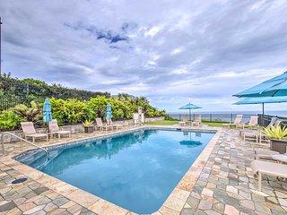 Oceanfront Princeville Penthouse w/Bali Hai View!