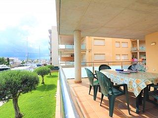 Apartamento en alquiler con piscina en Roses-Cap Mestral