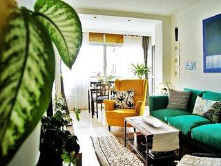 Mainake. Moderno y centrico apartamento en Malaga. Frente estacion Maria