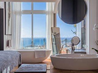 Villa Avitan 'Gray' with Sea View