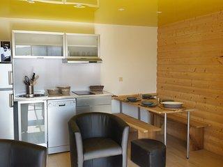 Appartement Écureuil 3 étoiles : 6 couchages + terrasse et jardin