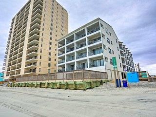 Beachfront Garden City Condo w/Balcony & Pool