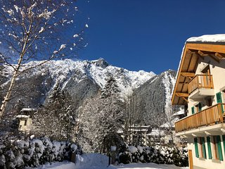 Garden  Apartment - Ground Floor Apartment, Central Chamonix