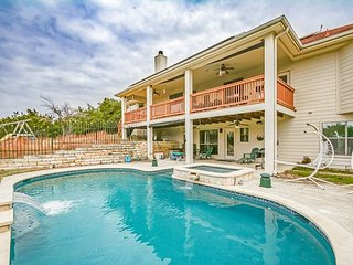 Open Concept & Family-Friendly Austin Retreat w/ Pool & Hill Country  Views