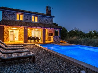 Stone villa with pool for rent island Krk