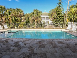 This home is located at the quiet southern end of Estero Island, and is only a