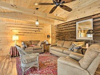 NEW! Livingston Manor Cabin - 40 Acre Private Lake