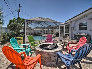 NEW! Pet-Friendly Home w/Pool- Walk to Cocoa Beach