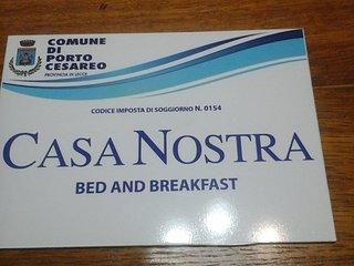 B&B Casa Nostra