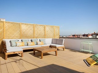 Delightful 3Bed Penthouse w/Terrace in Heart of Eixample