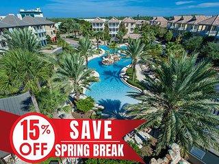 15% OFF Now - 4/6/19! Lagoon Heated Pool, Hotub, Near Beach + FREE VIP Perks!