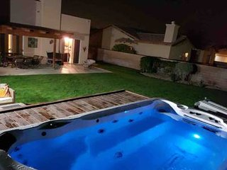 Large Hot Swimming Pool Rental in Palm Desert