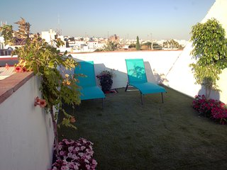 Estudio de lujo con terraza
