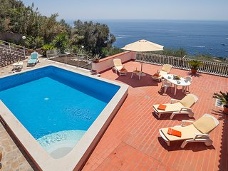 Villa Luciana with Private Pool, Terrace, Parking and Sea View