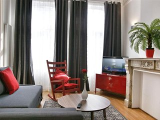 Antoine VII apartment in Brussels Centre with WiFi & lift.