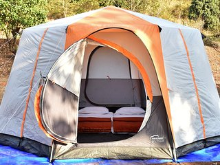 Bombay Camping Co. Luxury Tents in Lonavala, Pawna Lake.
